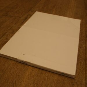 A4 ark PVC m/ 2 A5 etiketter – 100 stk