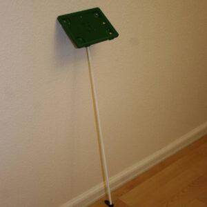 Grøn ramme m/bagplade til præsentationssæt – A5