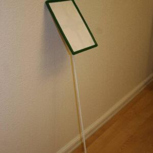 Præsentationssæt – komplet – A4 m/grøn ramme – sæt 25 stk