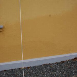 Fiberstok til fane/skilte – massiv glasfiber/hvid -2000 x 6 mm