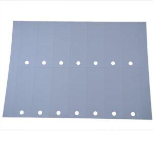 A4 ark PVC Cross m/ 14 etiketter á 105 x 37 mm