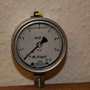 Manometer til Agros N måler