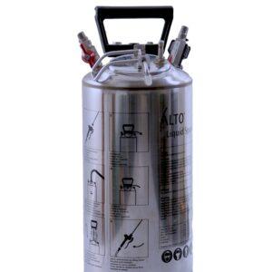 AZO Vædskebeholder m/ bærehåndtag – 5 l. rustfri